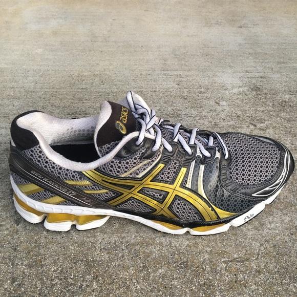 separation shoes f199b ee067 Asics Shoes - ASICS GEL KAYANO 17 Top Duo Max Gray Gold run shoe